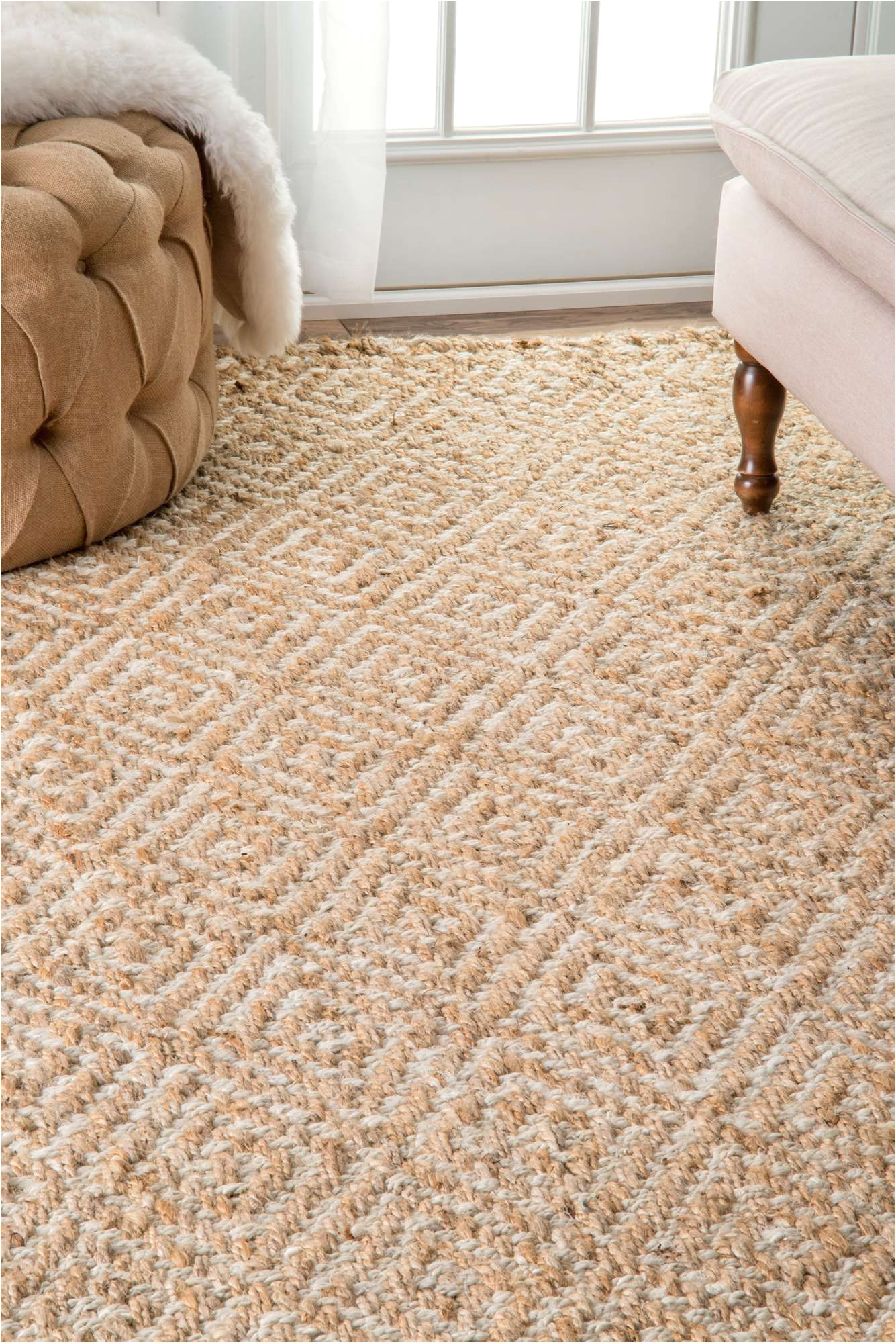 Soft Natural Fiber Rugs Earthy organic and Handwoven This Natural Fiber Rug Will Bring A