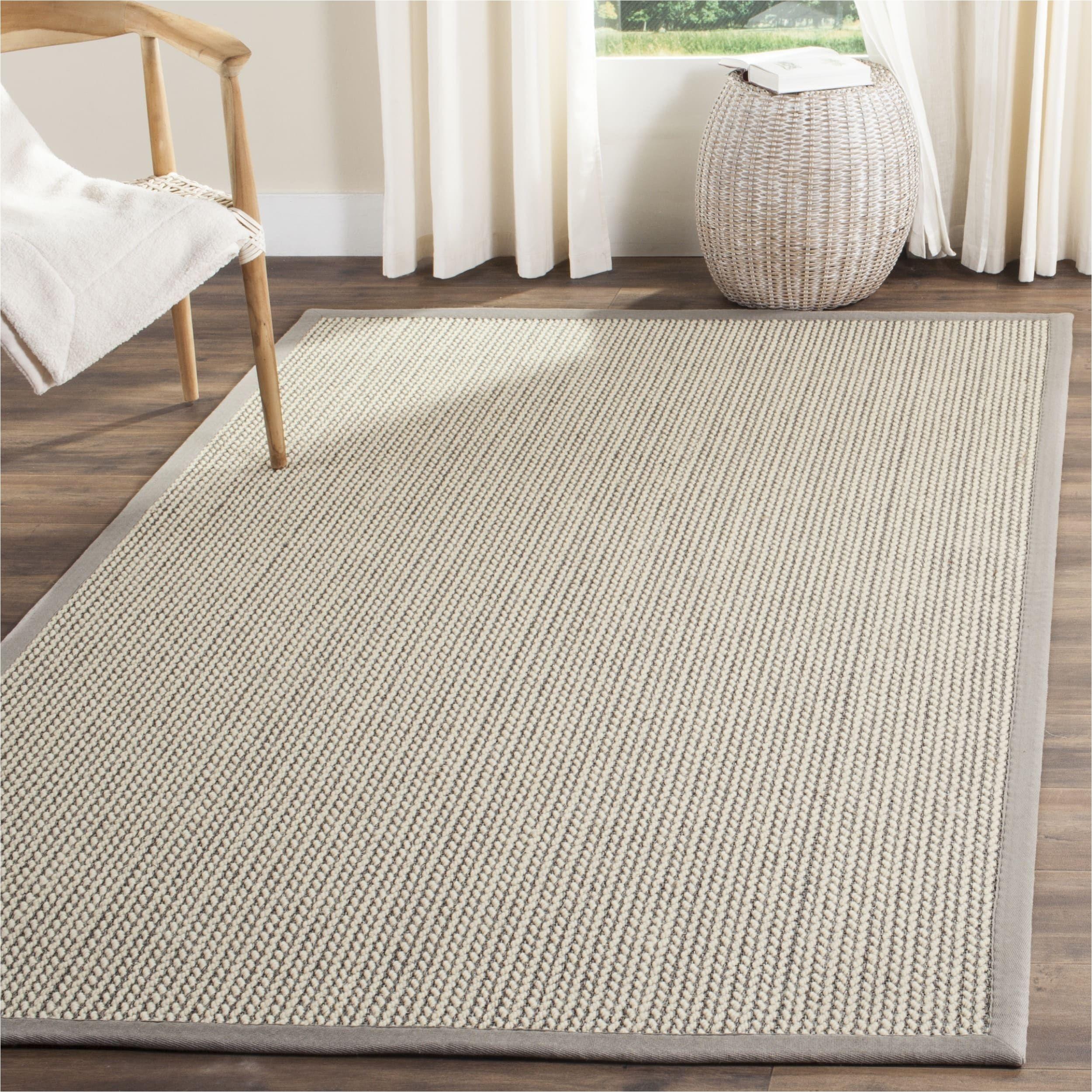 safavieh casual natural fiber handmade grey sisal rug 6 x 9 overstock com shopping the best deals on 5x8 6x9 rugs