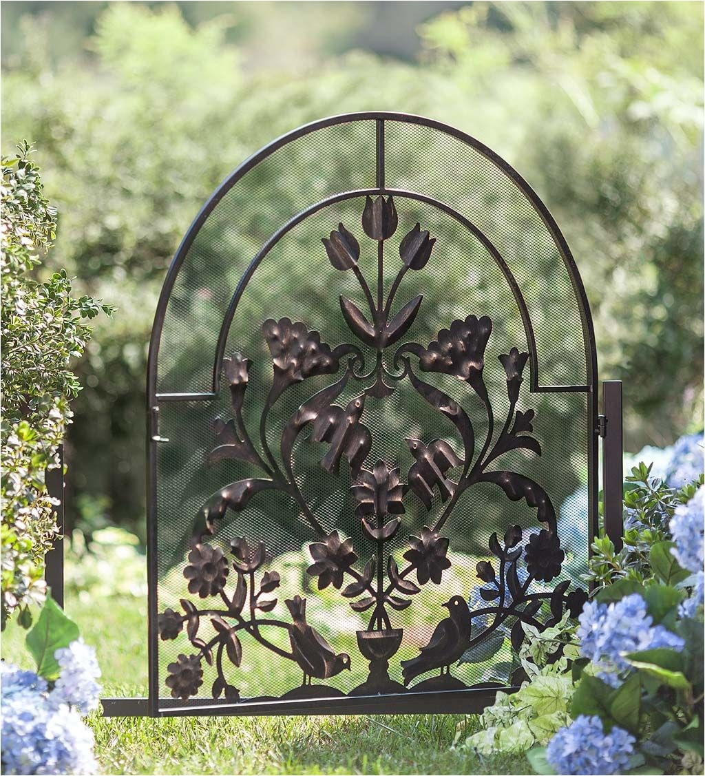 ansley folk art garden gate