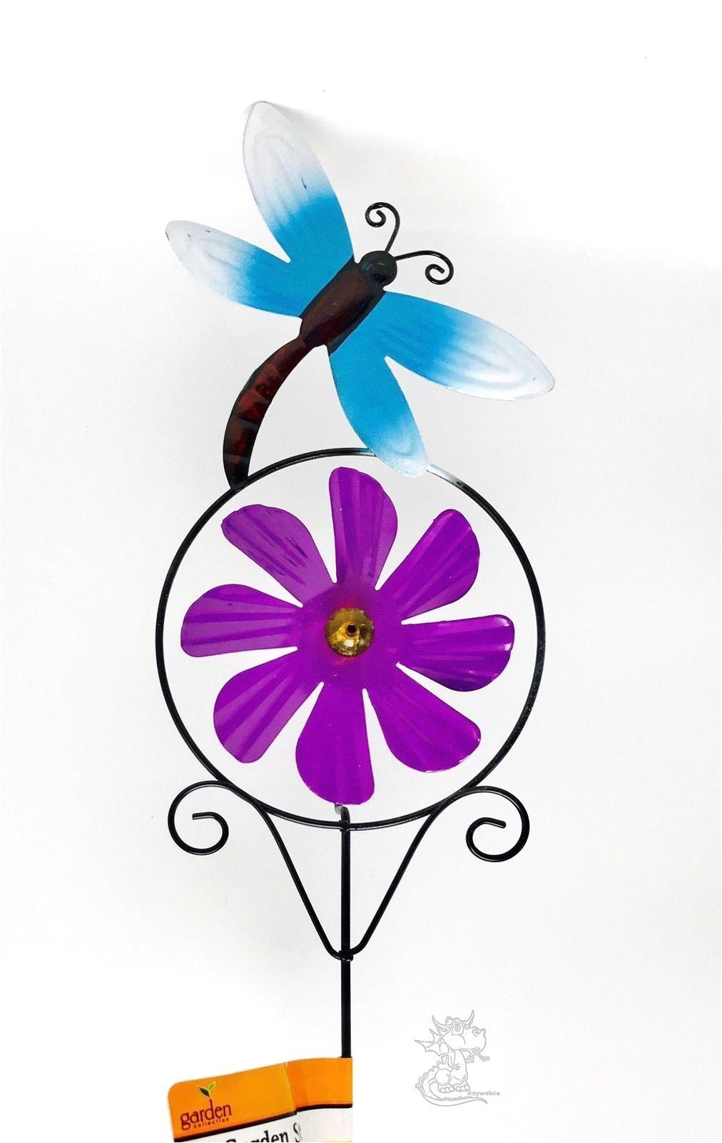 check it out metal garden stak found at http keywebco garden stakespurple flowersyard artspinningyards