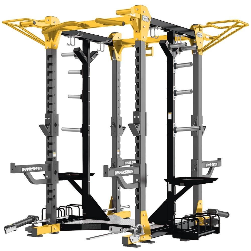 hammer strength hd elite combo rack