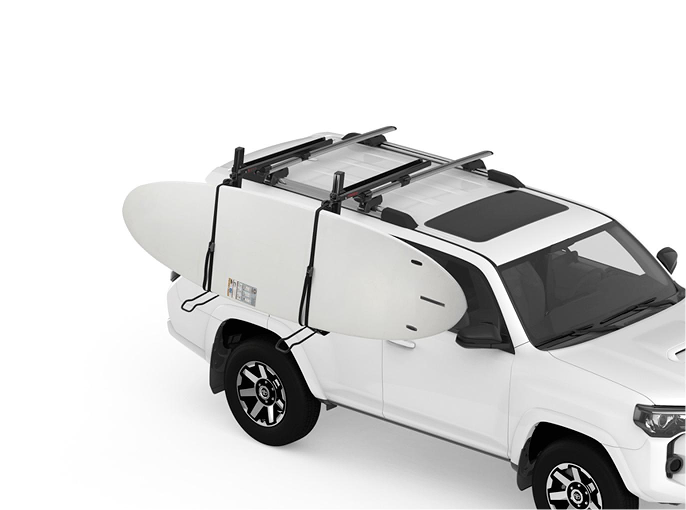 Stand Up Paddle Board Car Rack Demo Showdown Side Loading Sup and Kayak Carrier Modula Racks