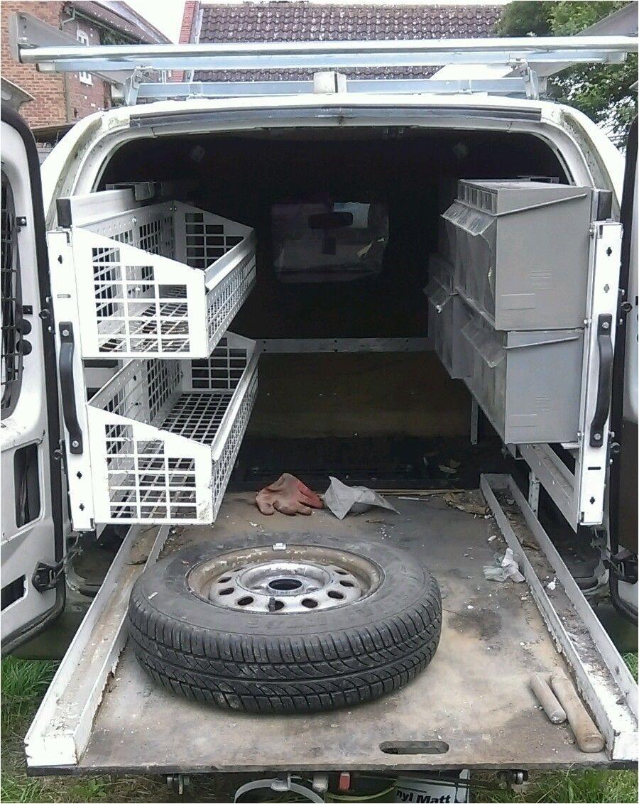 used van racking ebay