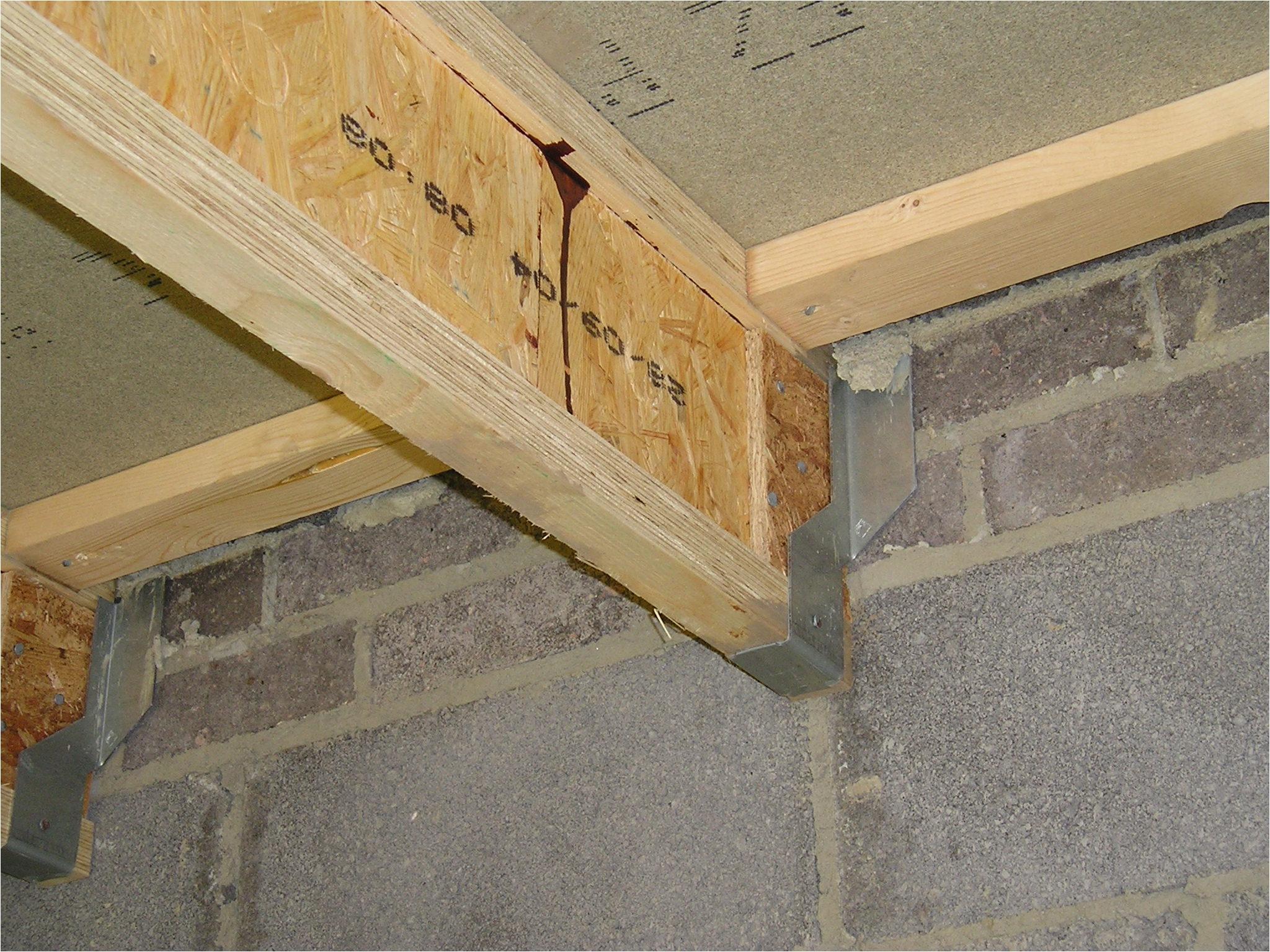 Suspended Timber Floor Joist Hangers Upper Floors
