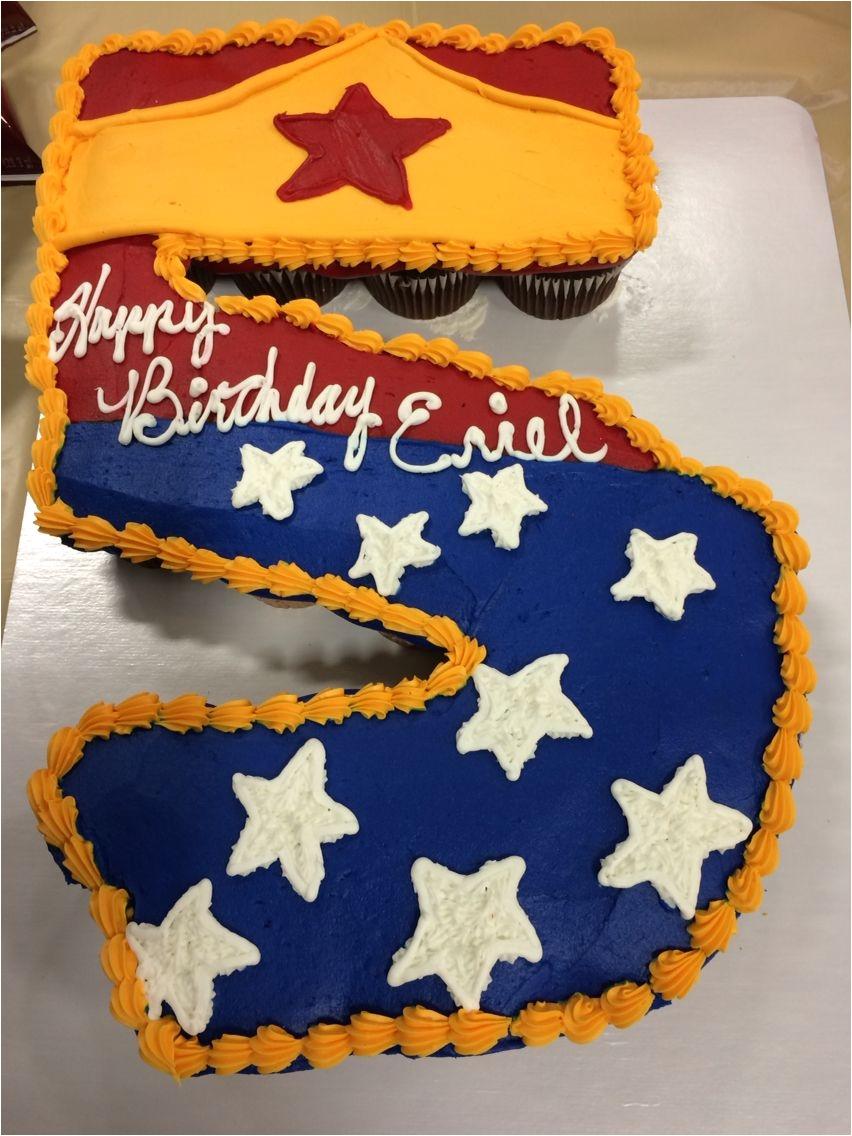 Target Birthday Cake Decorations Diy Inspiration Wonder Woman Number Girlsuperhero
