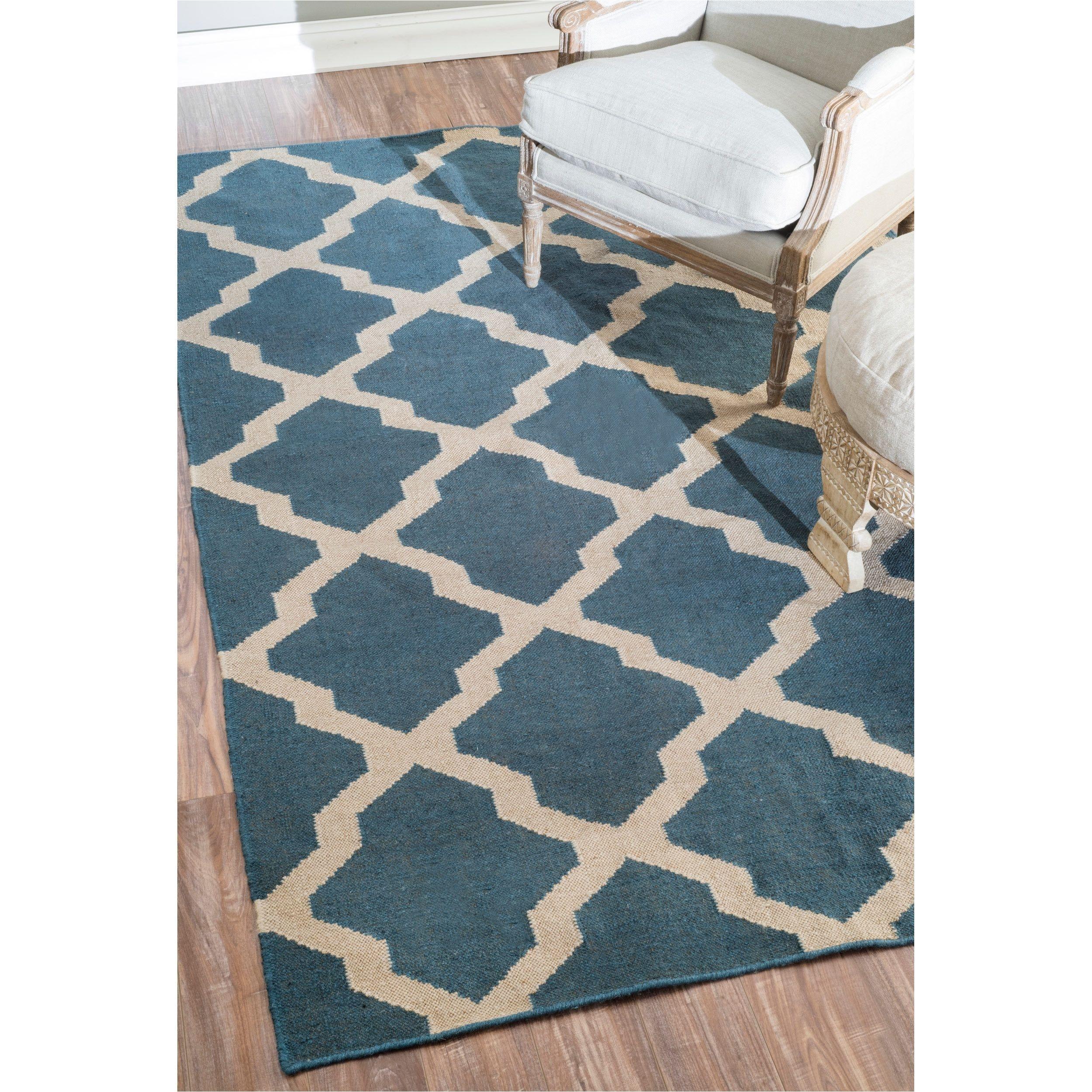 nuloom flatwoven indoor outdoor trellis fancy rug 5 x 8