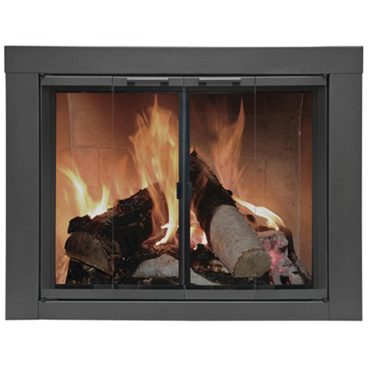 the arlington masonry fireplace door