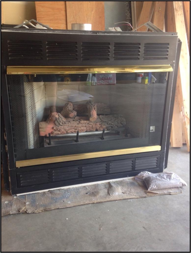 temco fireplace