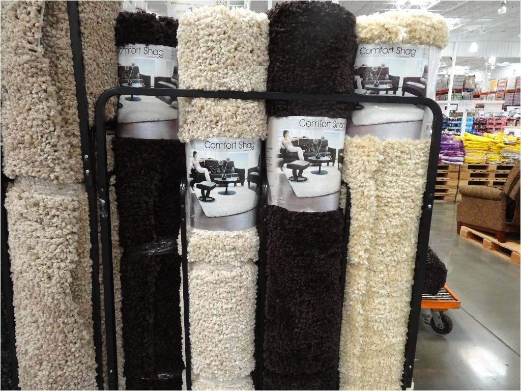 comfort shag area rug costco