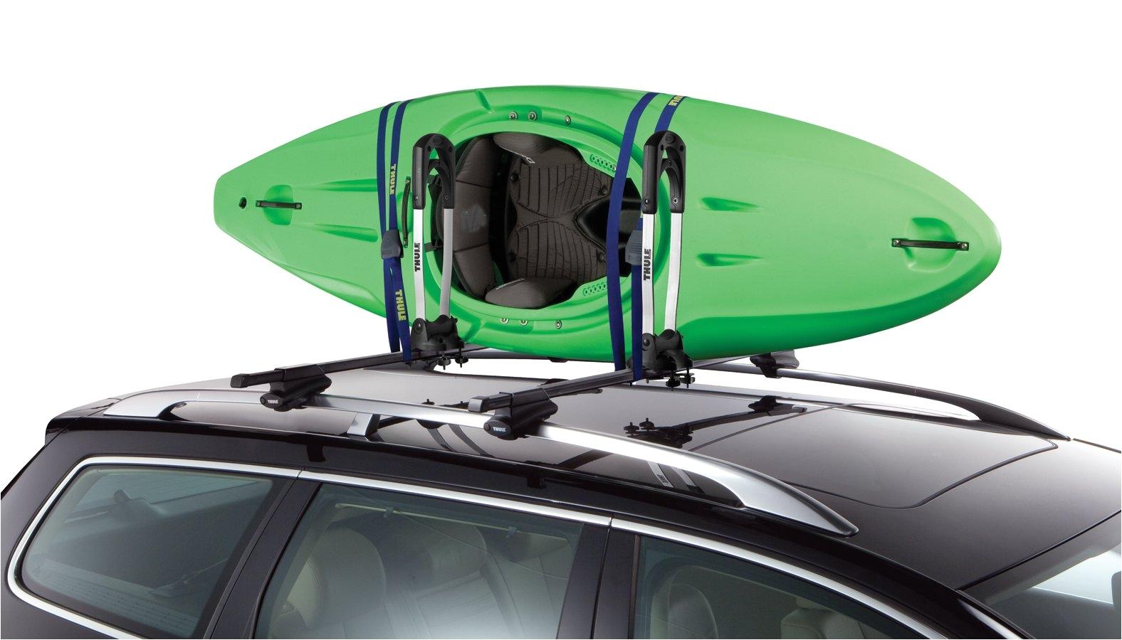 Thule Kayak Rack for 2 Kayaks Thule Stacker Kayak Carrier Thule Stacker Rooftop Kayak Rack