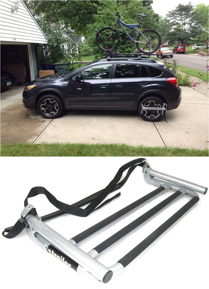 Thule Roof Rack for toyota Tacoma Double Cab Thule Step Up Wheel Step Tire Mount Pinterest Roof Rack Truck