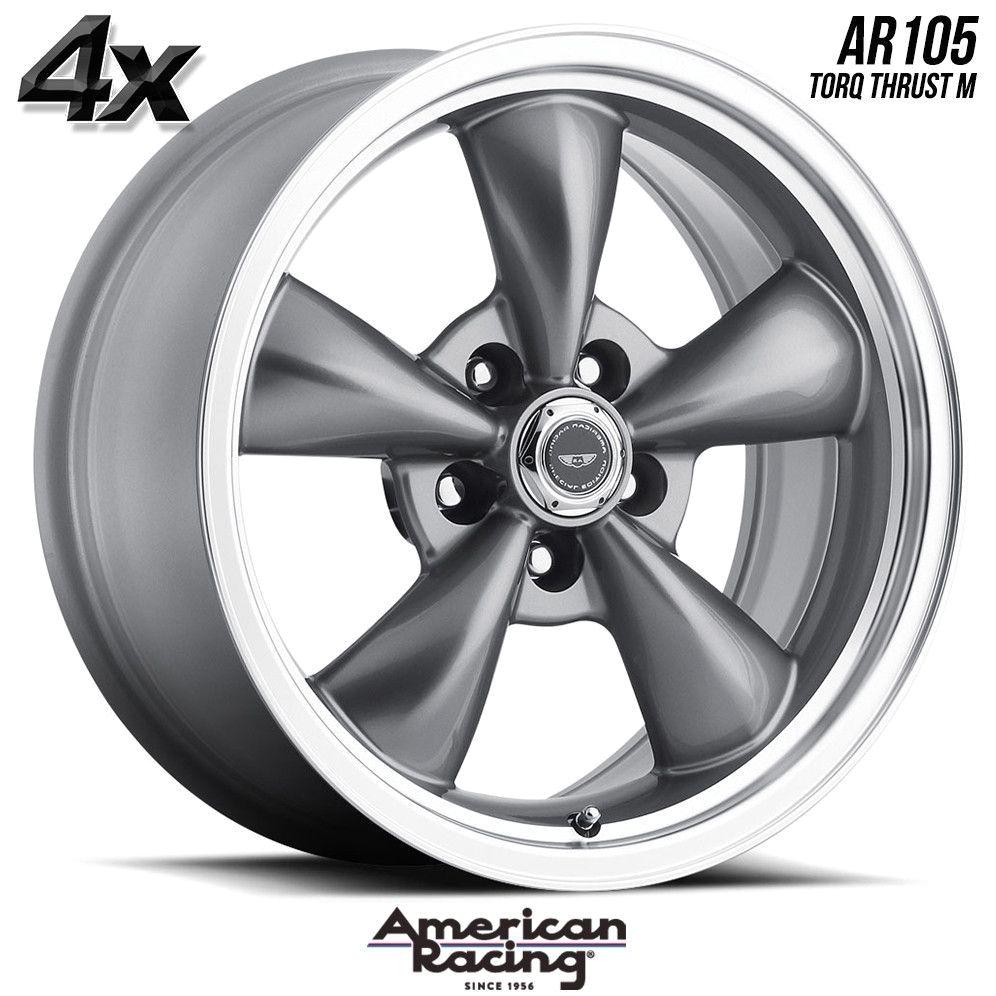 4 american racing 105 t thrust 20 x10 5x114 30 anthracite ofst 17 inch rimsamerican racingwheels