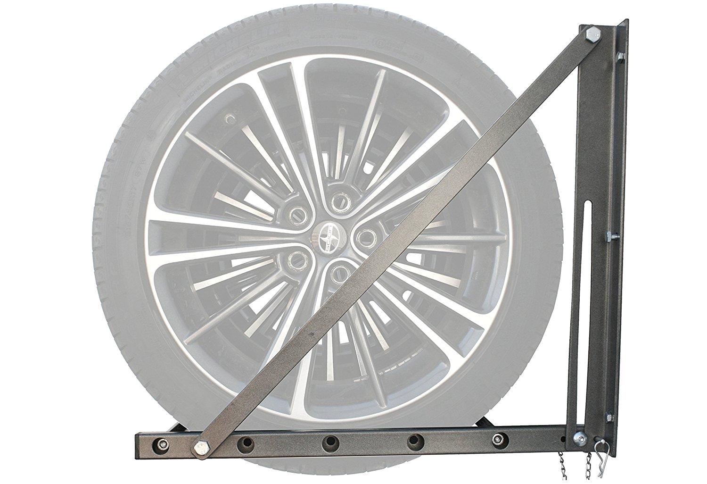 Tire Rack Motorcycle Wheels Amazon Com Maxxhaul 70489 300 Lb Capacity Foldable and