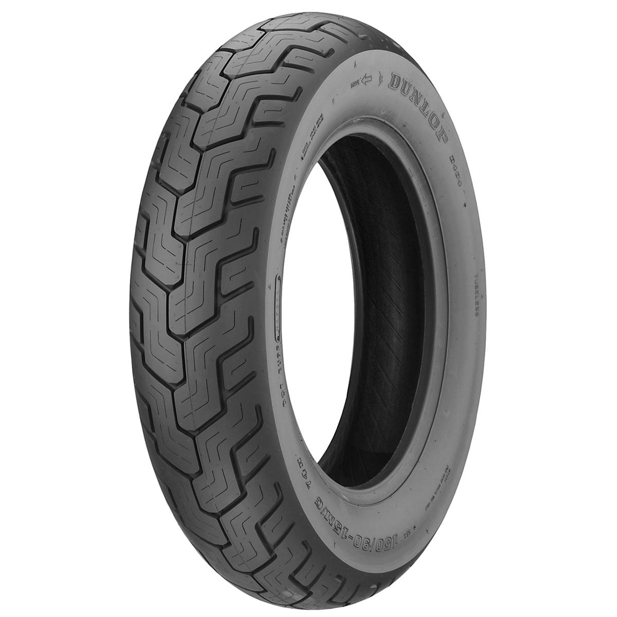 dunlop d404 170 80 15 rear tire