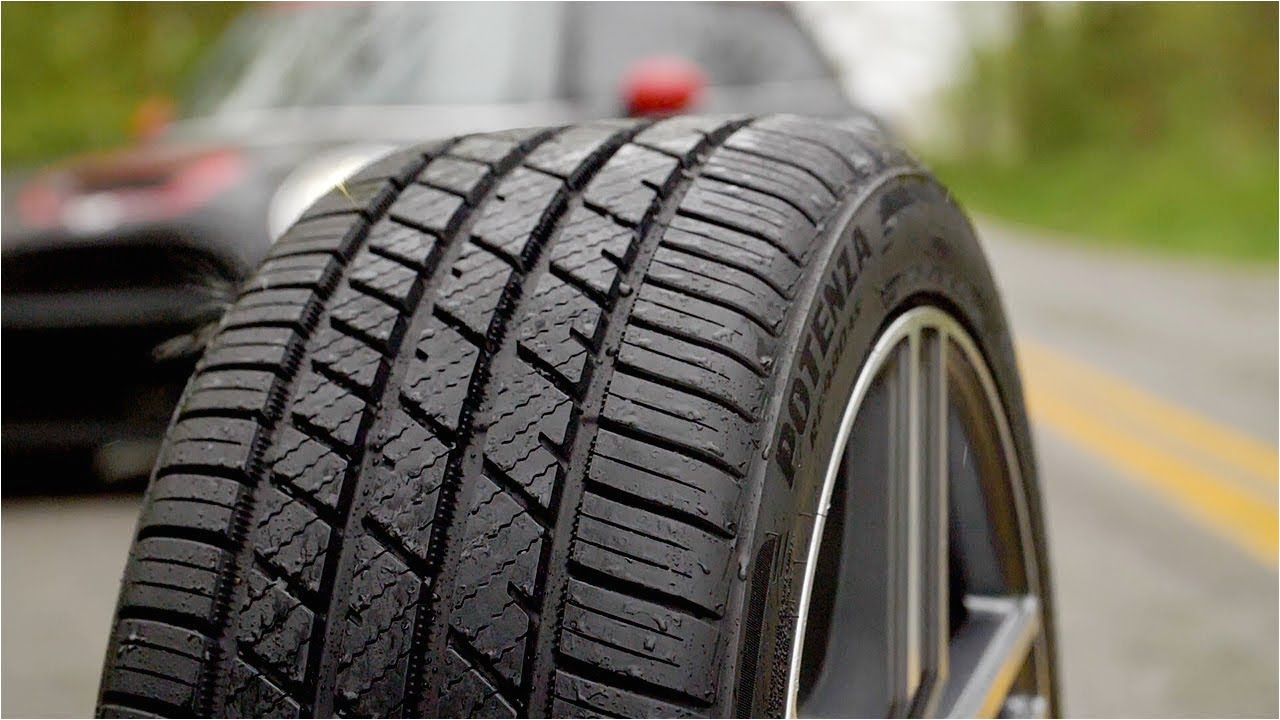 experience the bridgestone potenza re980as tire rack
