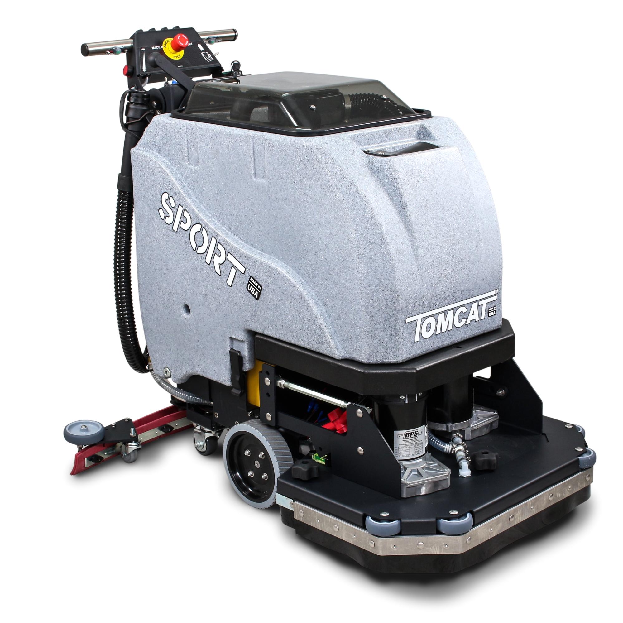 Tomcat Floor Scrubber tomcat Sport Walk Behind Floor Scrubber Dryer System Clean Inc