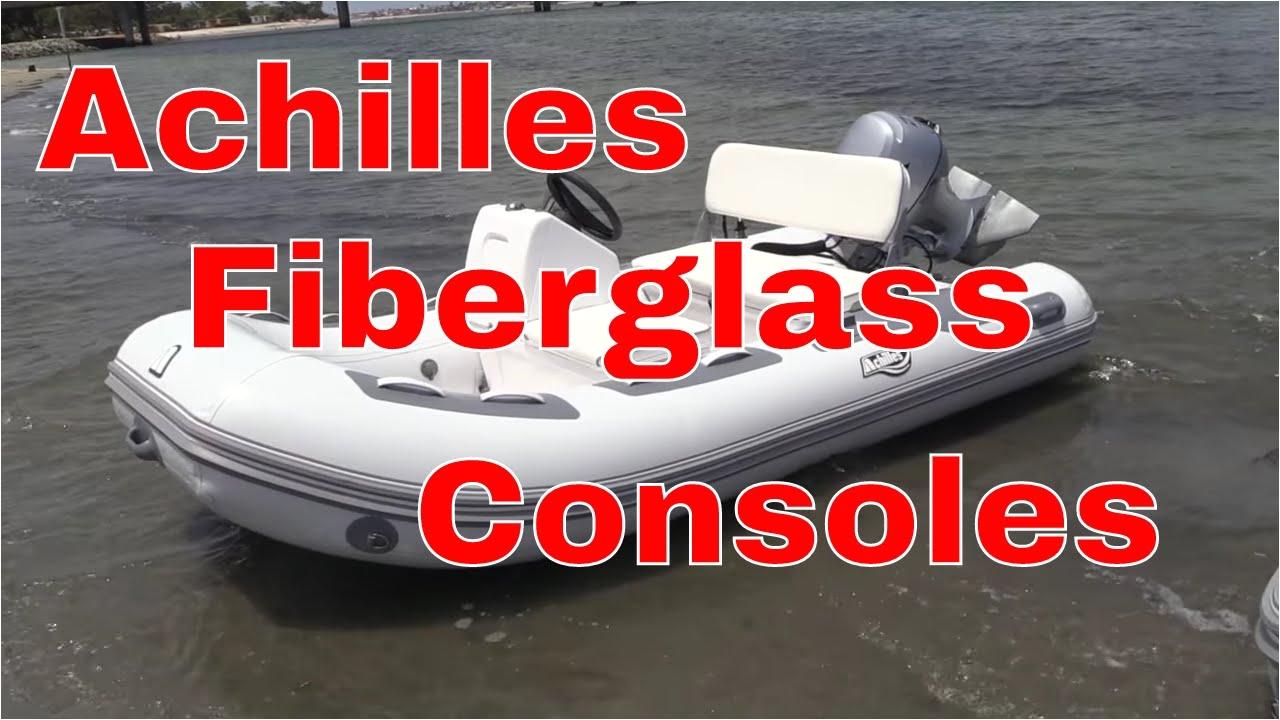 achilles fiberglass consoles seating storage achilles boats