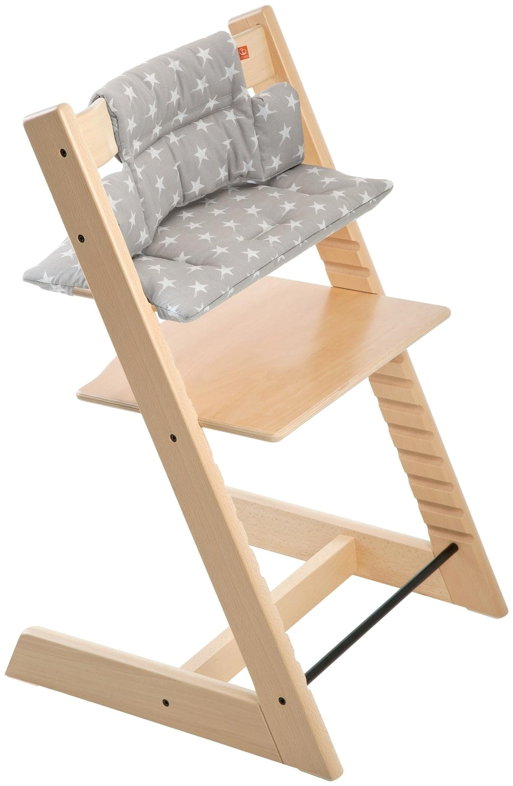 stokke tripp trapp cushion grey star chair not included