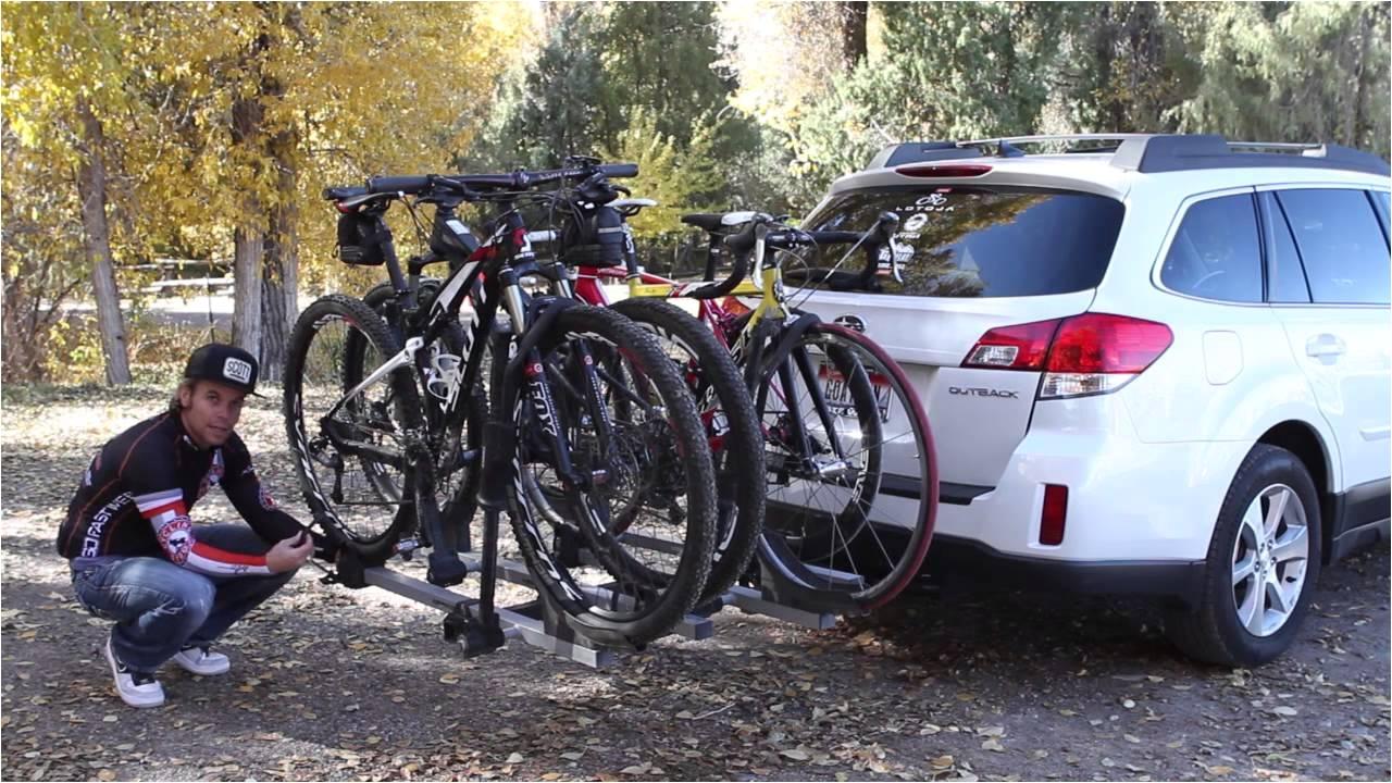 subaru and thule bike rack review