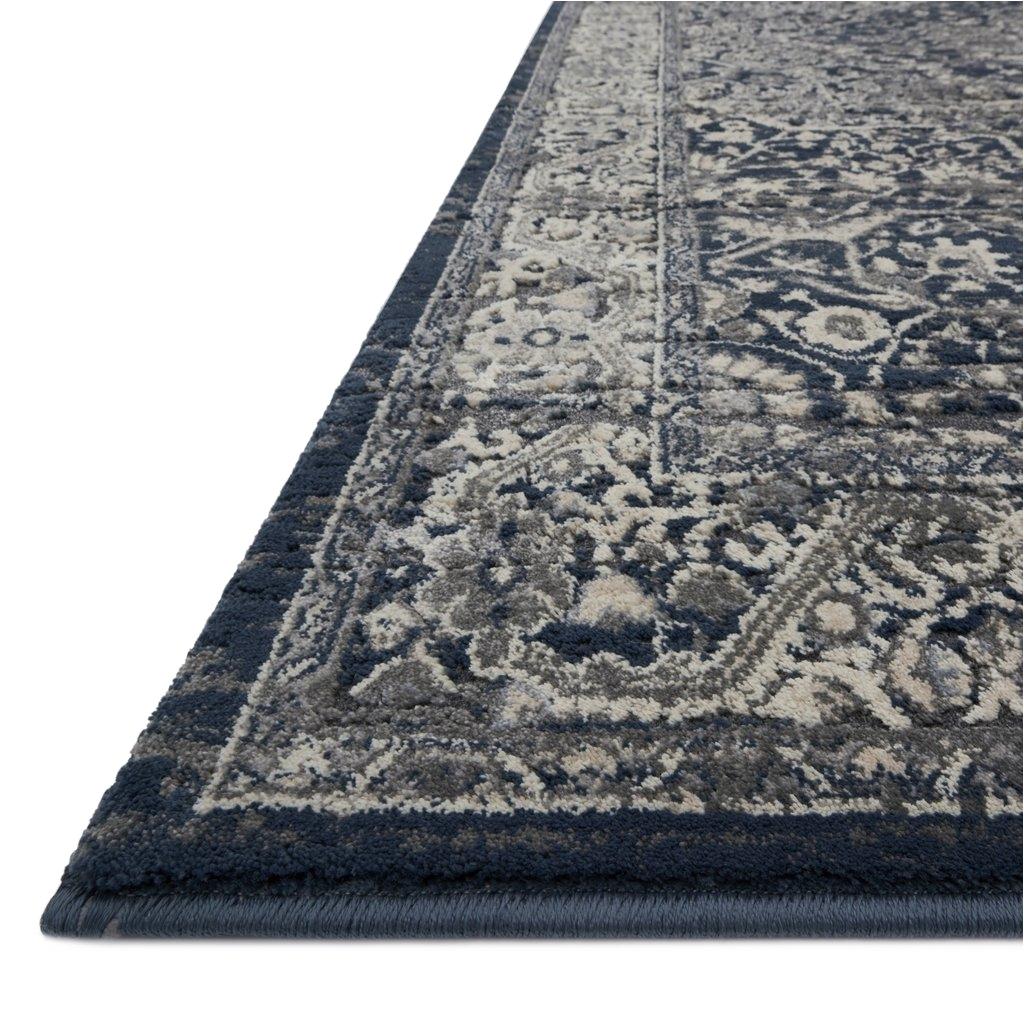 everly grey midnight rug