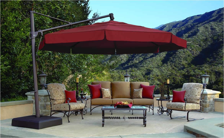 Treasure Garden Cantilever Umbrella 13 Treasure Garden Hauser S Patio