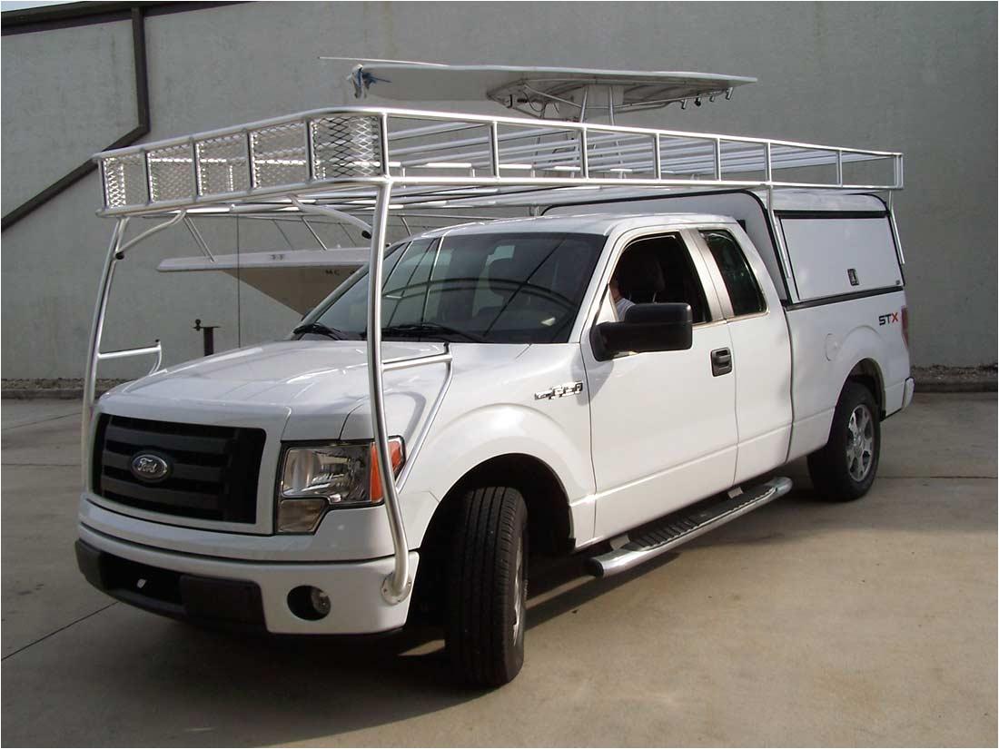 Truck Cab Racks Removable Custom Truck Racks and Van Racks by Action Welding