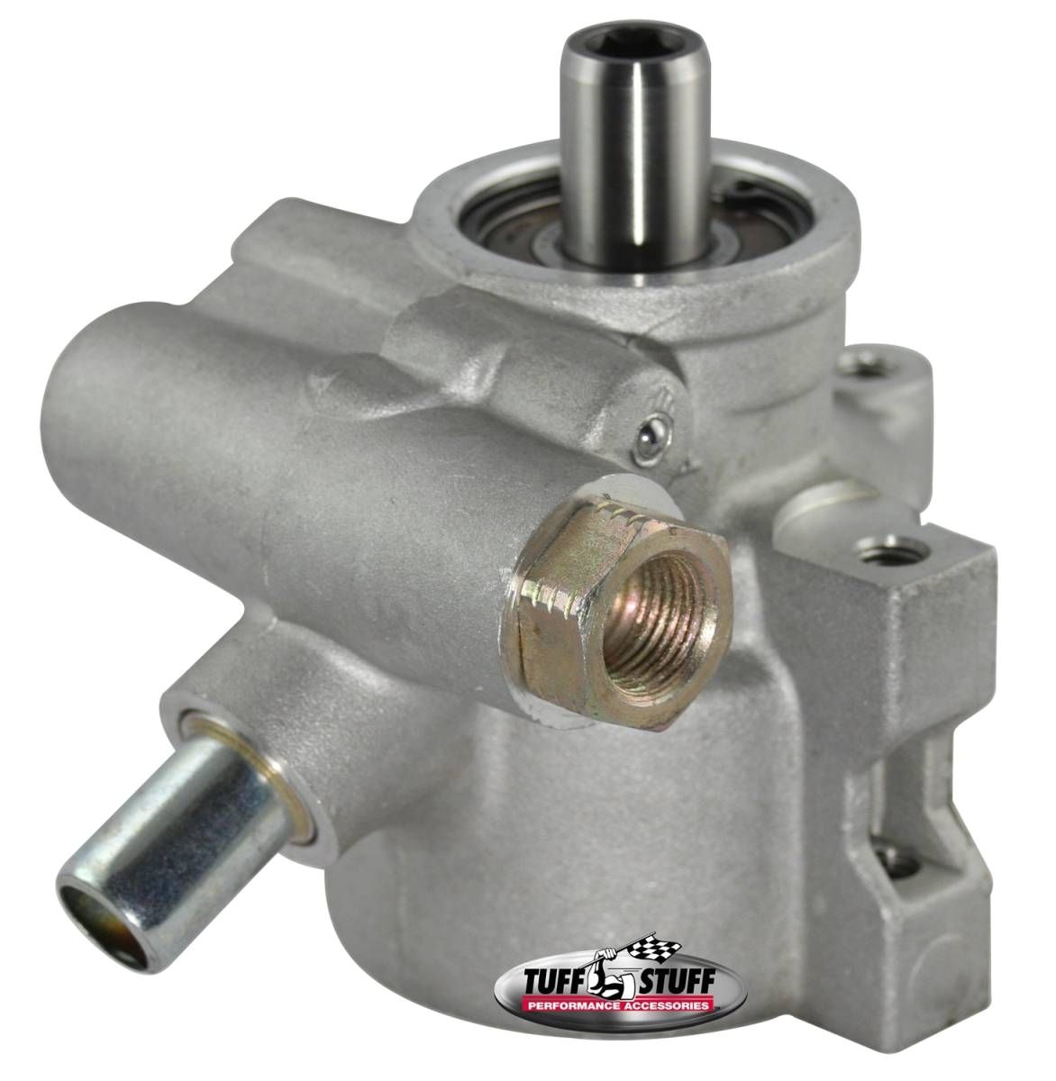 tuff stuff performance type ii alum power steering pump m16 and 5 8
