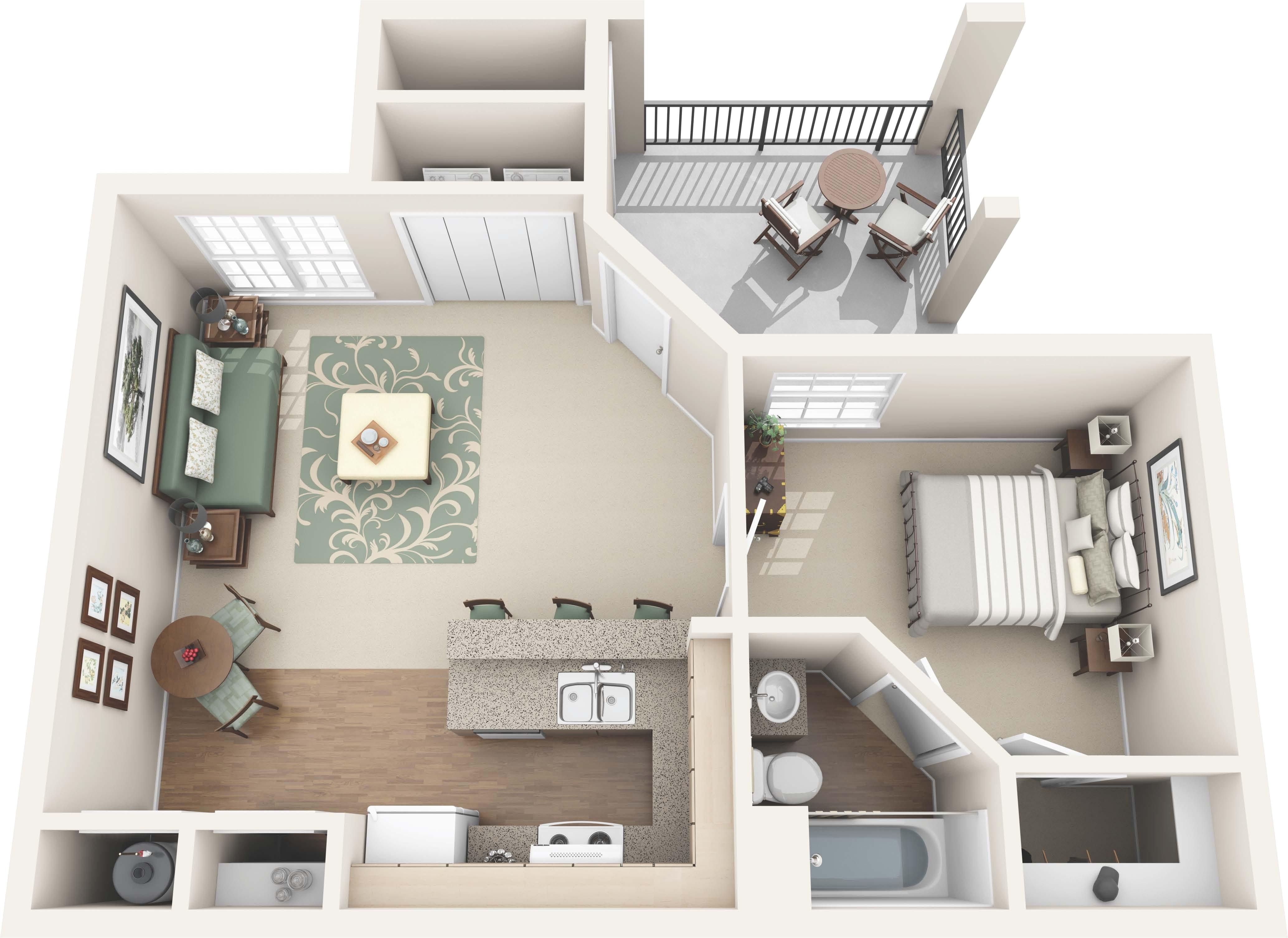 floor plans bedroom one bedroom apartments floor plans photo