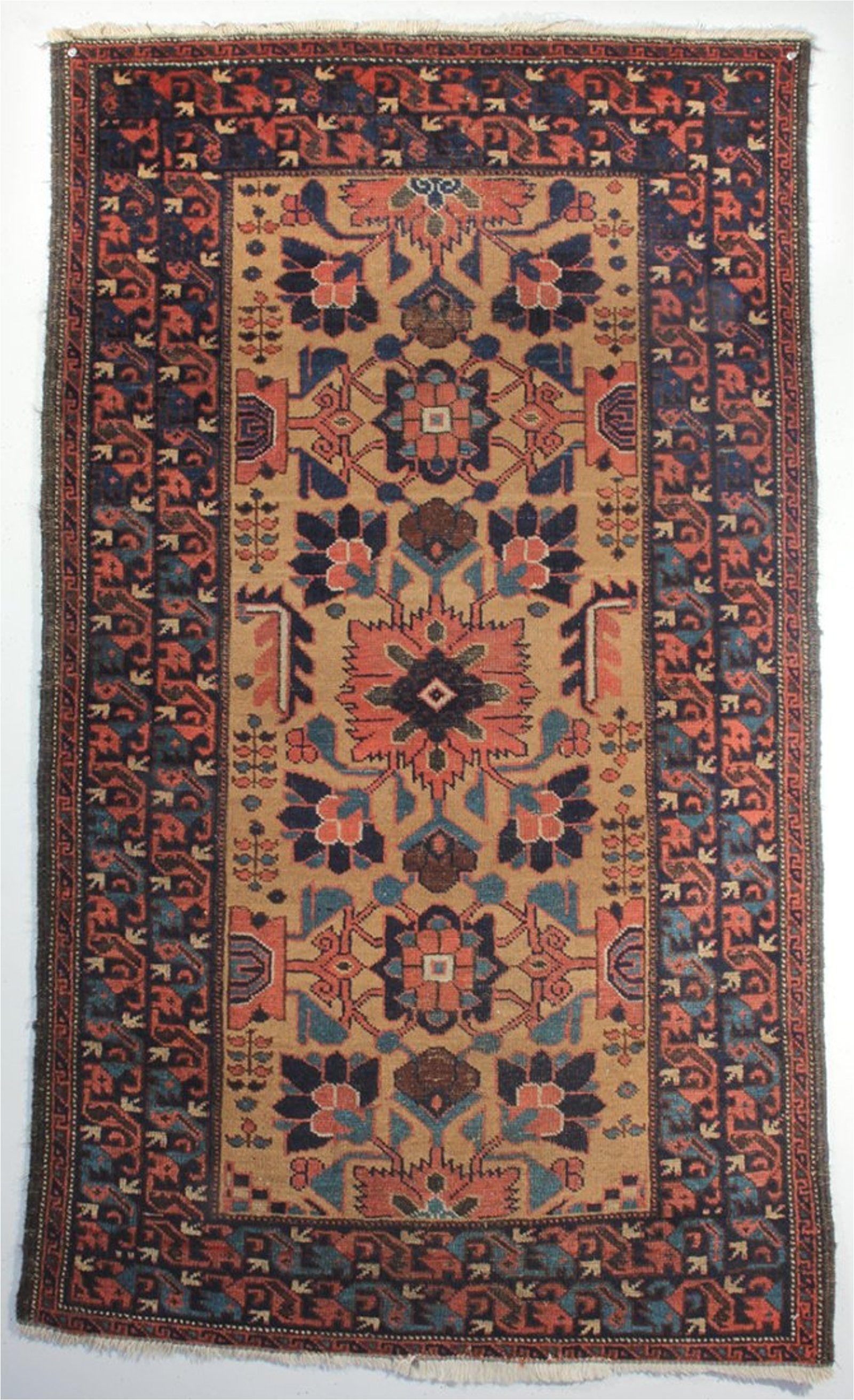 oriental a ferdows baluch rug