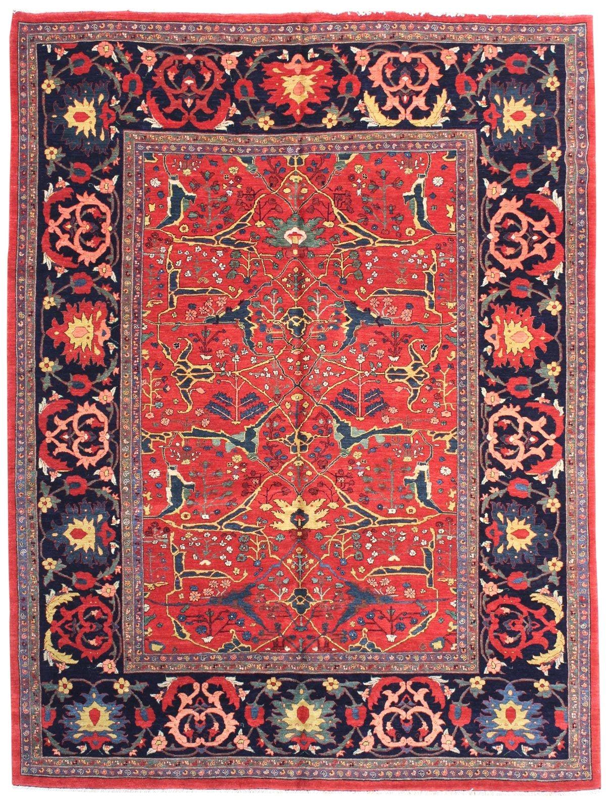 geometric oriental rugs gallery persian bijar rug hand knotted in persia size 8 feet 7 inch es x 11 feet 9 inch es