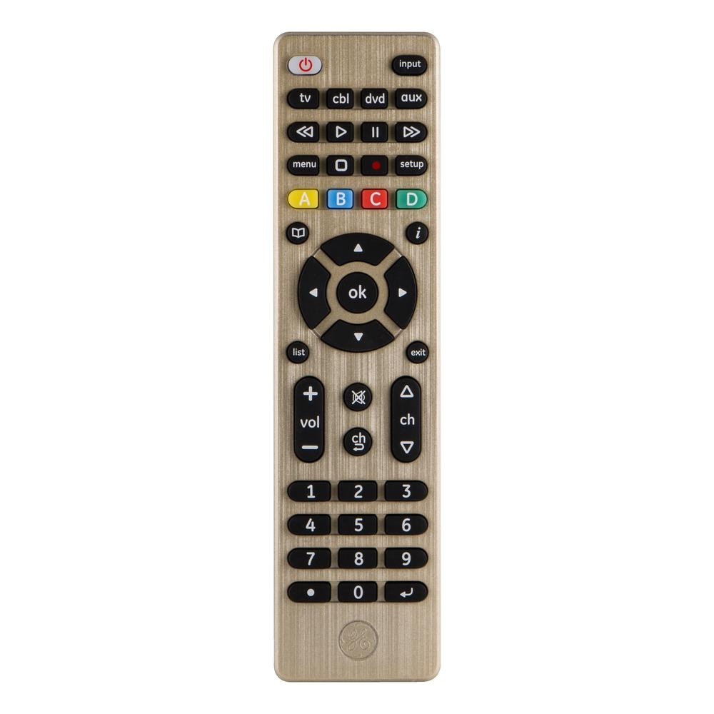 4 device designer series universal remote control