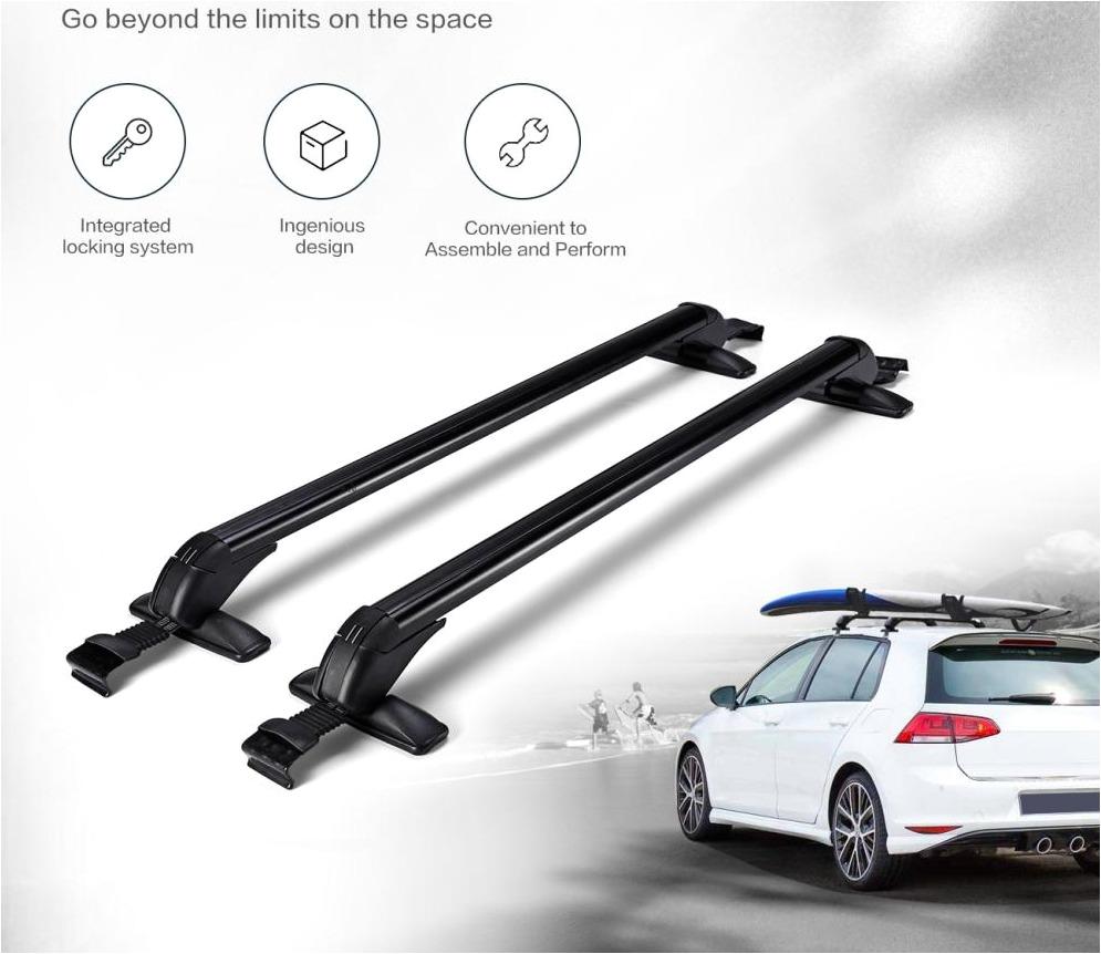 universal premium quality roof rack cross bars with locks