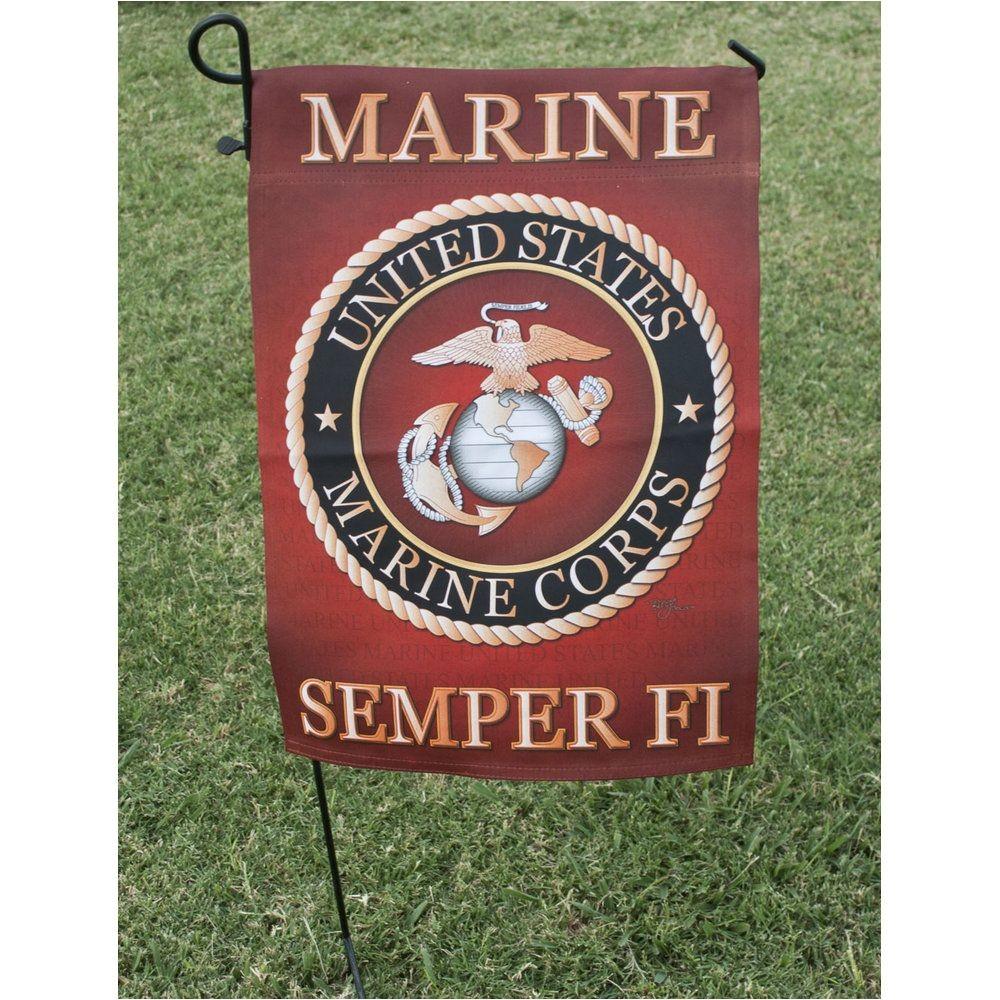 Usmc Garden Flag Printed Full Color Marine Corps Garden Flag Alexis Store Ideas