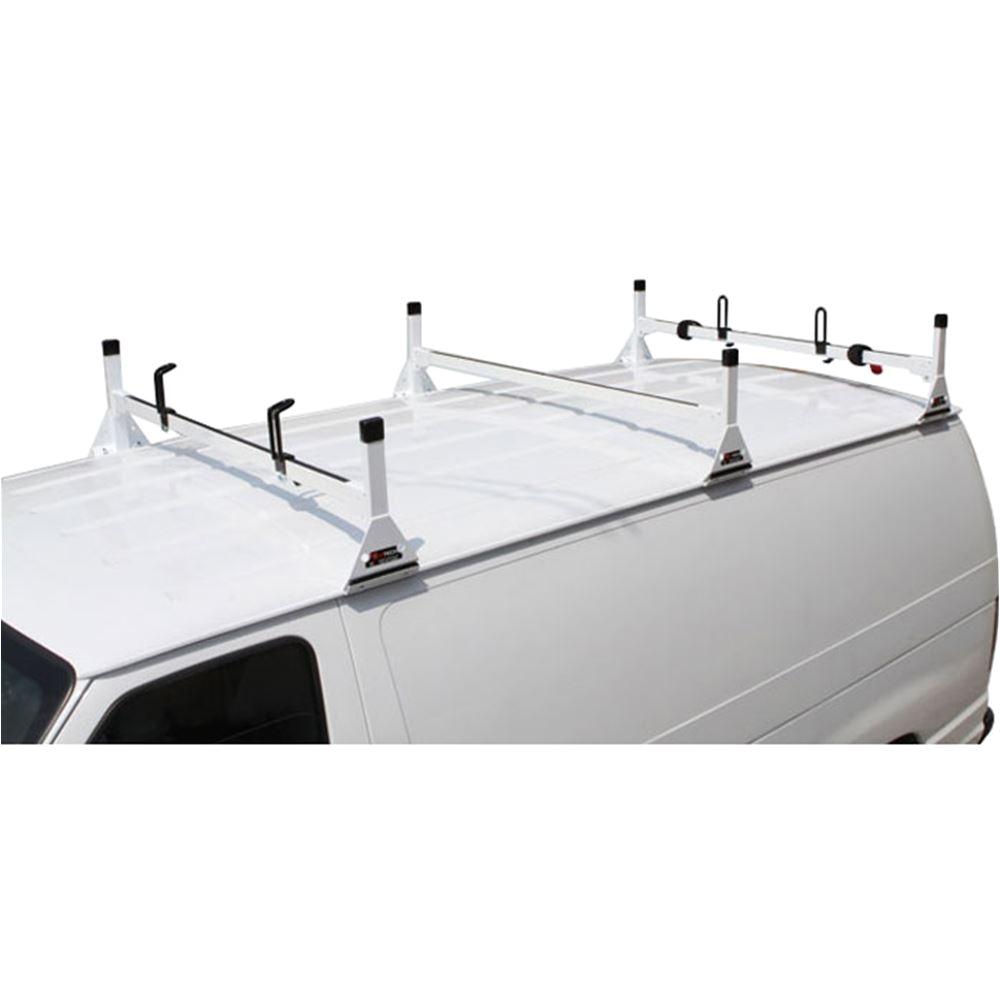 Vantech H1 Truck topper Racks Vantech H1 ford Econoline Steel Roof Rack Discount Ramps