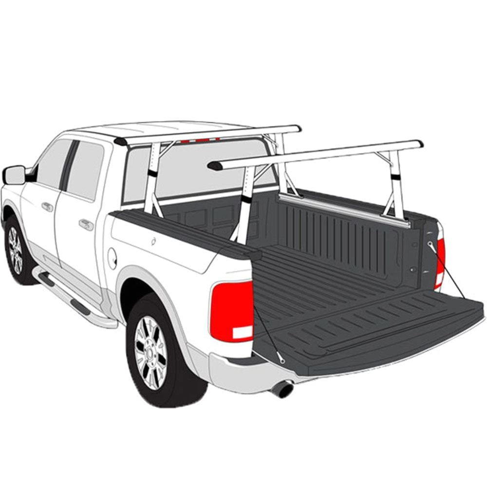 p3510 a b black aluminum 55 dodge ram cargo rack