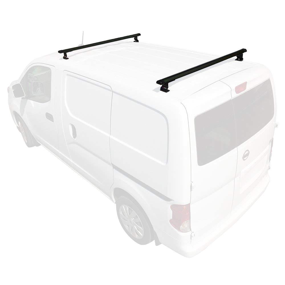 amazon com j1000 3 bar for nissan nv200 ladder roof rack 2013 on black automotive