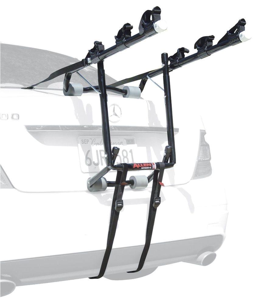 allen sports deluxe 3 bike trunk mount rack