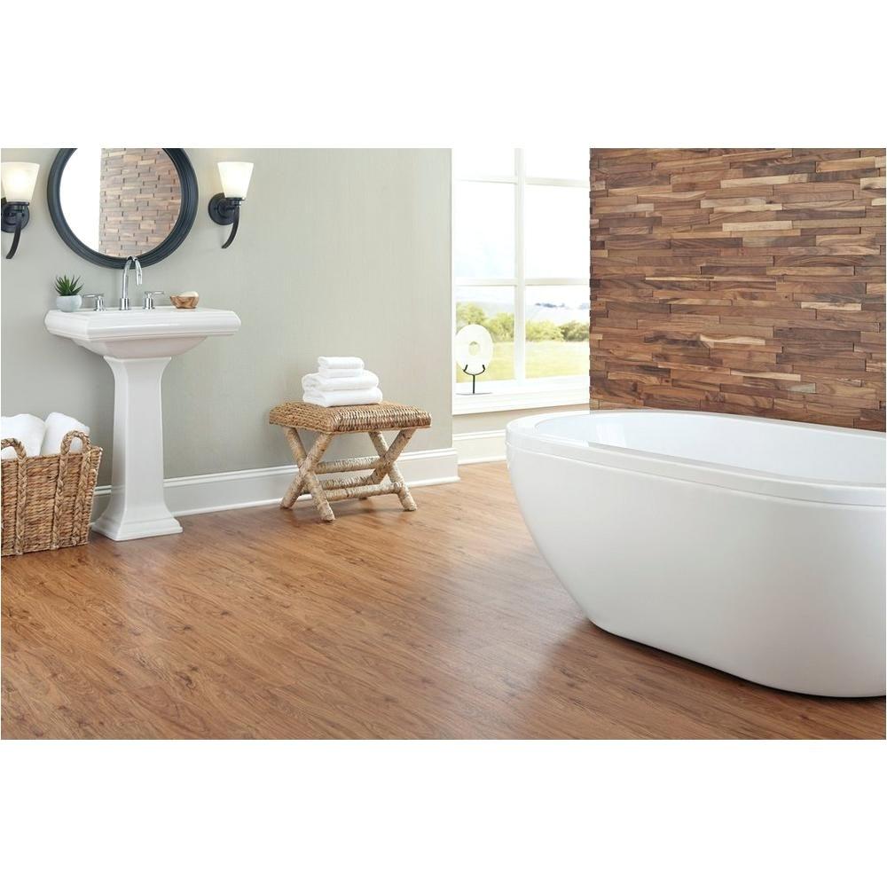 Vinyl Plank Flooring Installation Bathroom Casa Moderna Hickory ...