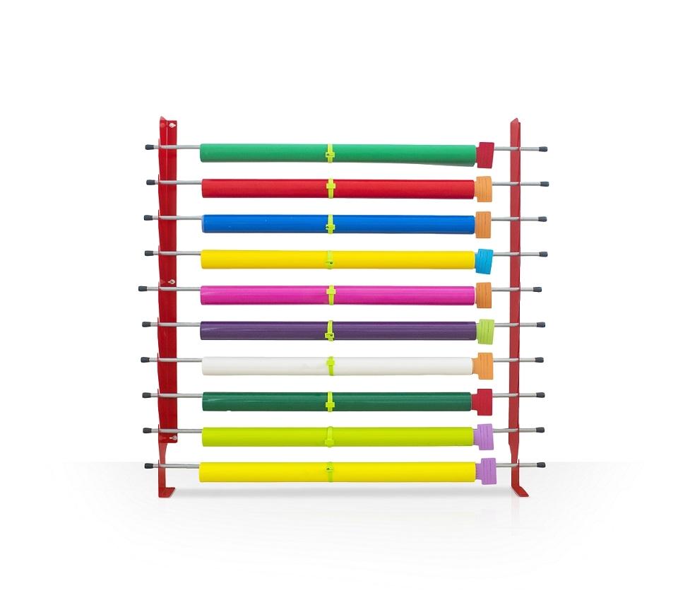 wall storage vinyl rack