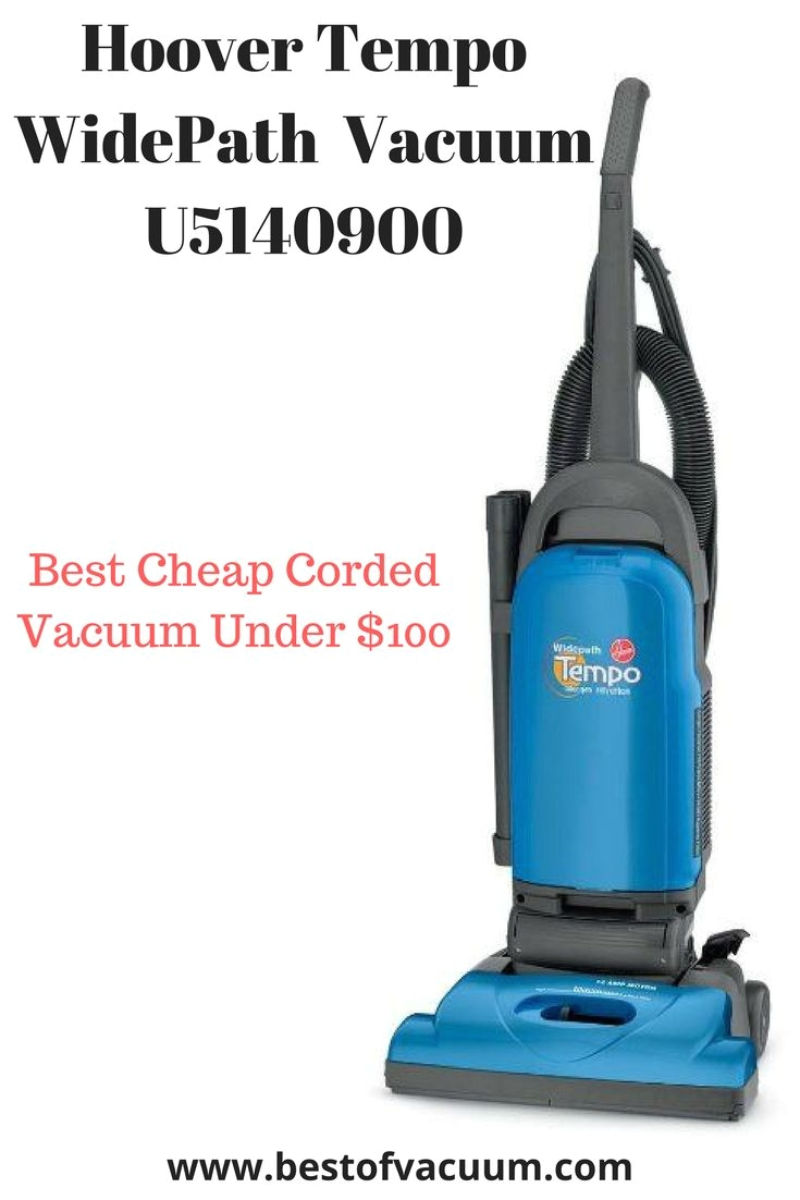 13 best rated vacuum cleaners under 100