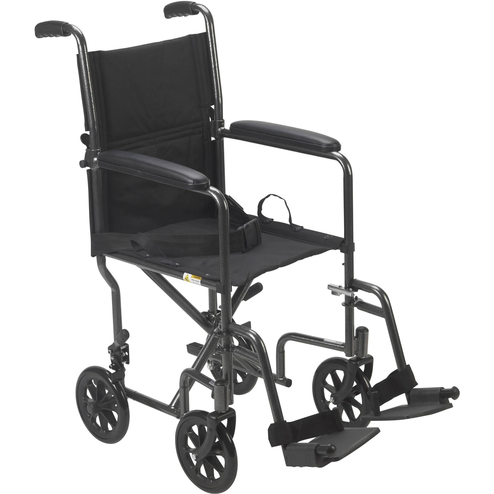 Walmart Steel Transport Chair Chair Transport Wheelchair with 12 Rear Wheels Sunrise Medical