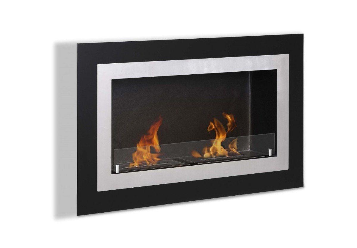 moda flame ronda wall mounted ethanol fireplace