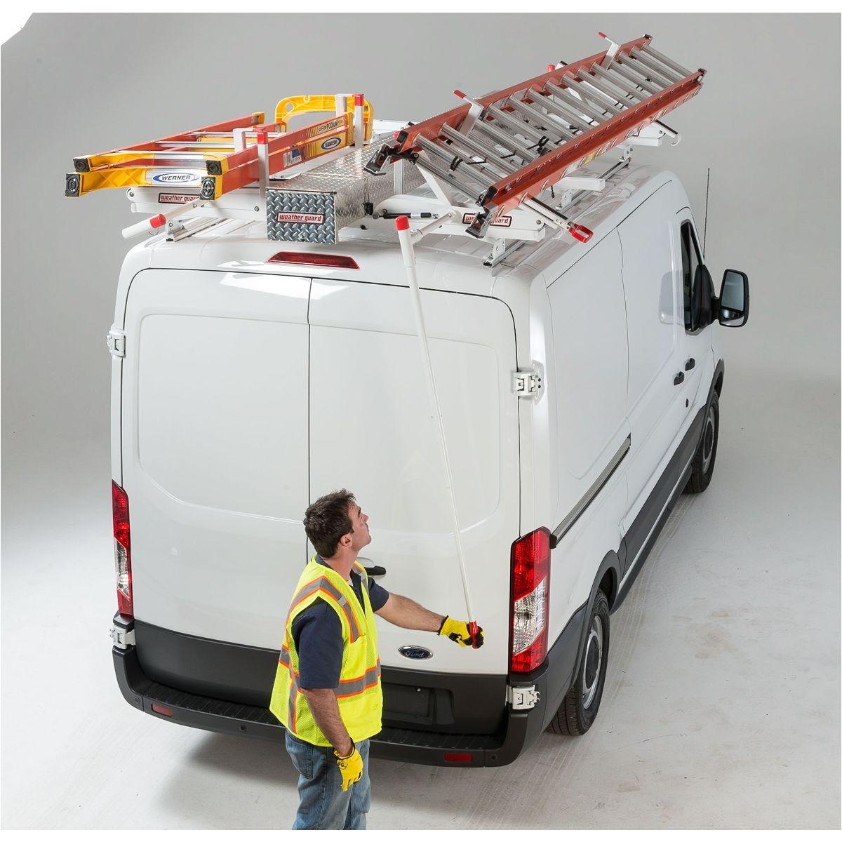 Weatherguard Ladder Racks for Vans Ezglide2 Van Racks Weather Guard Us