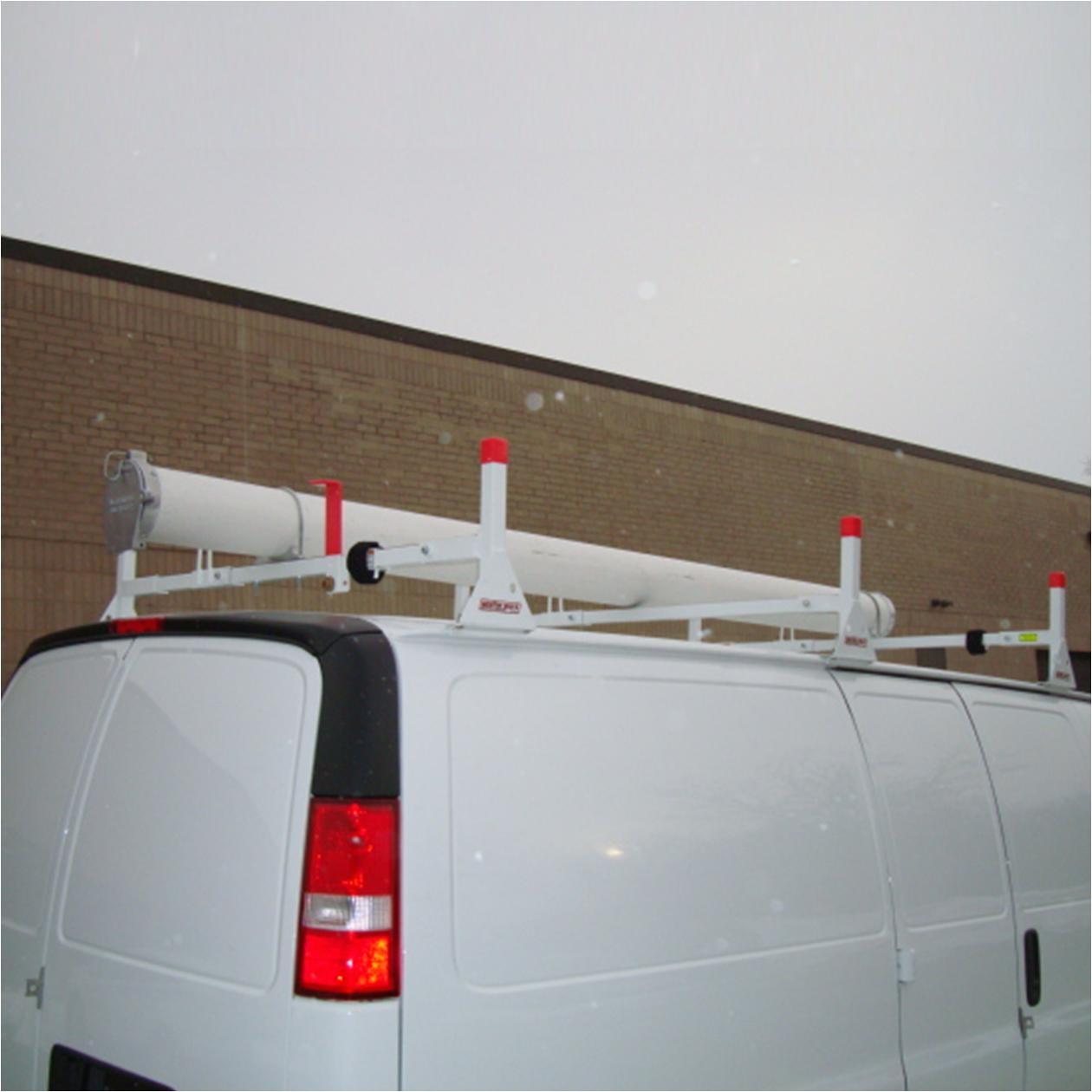 weather guard van equipment heavy duty steel ladder rack
