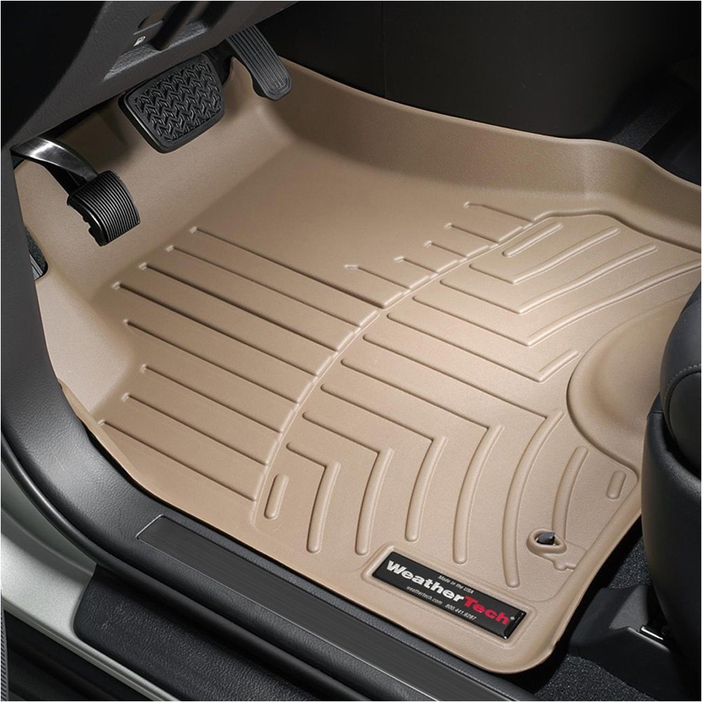 weathertecha digitalfita molded floor mats 1st row tan