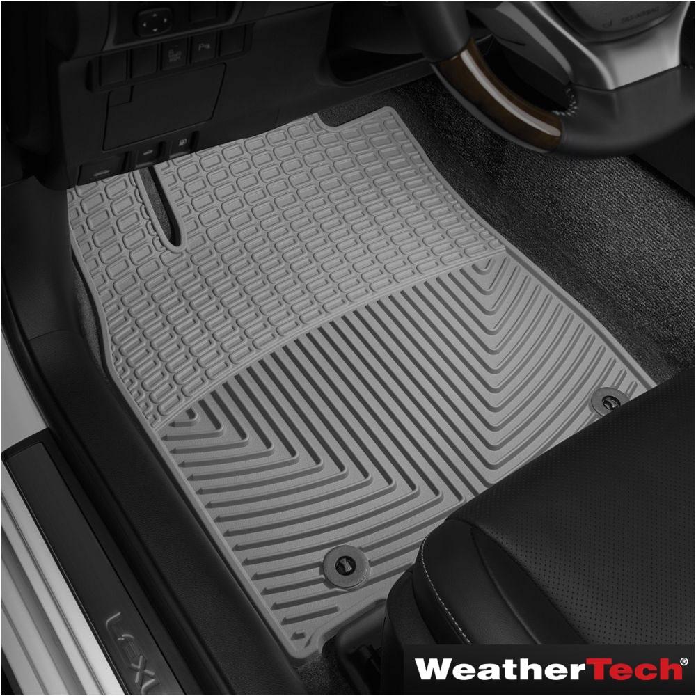 the weathertech custom fit auto floor mats front