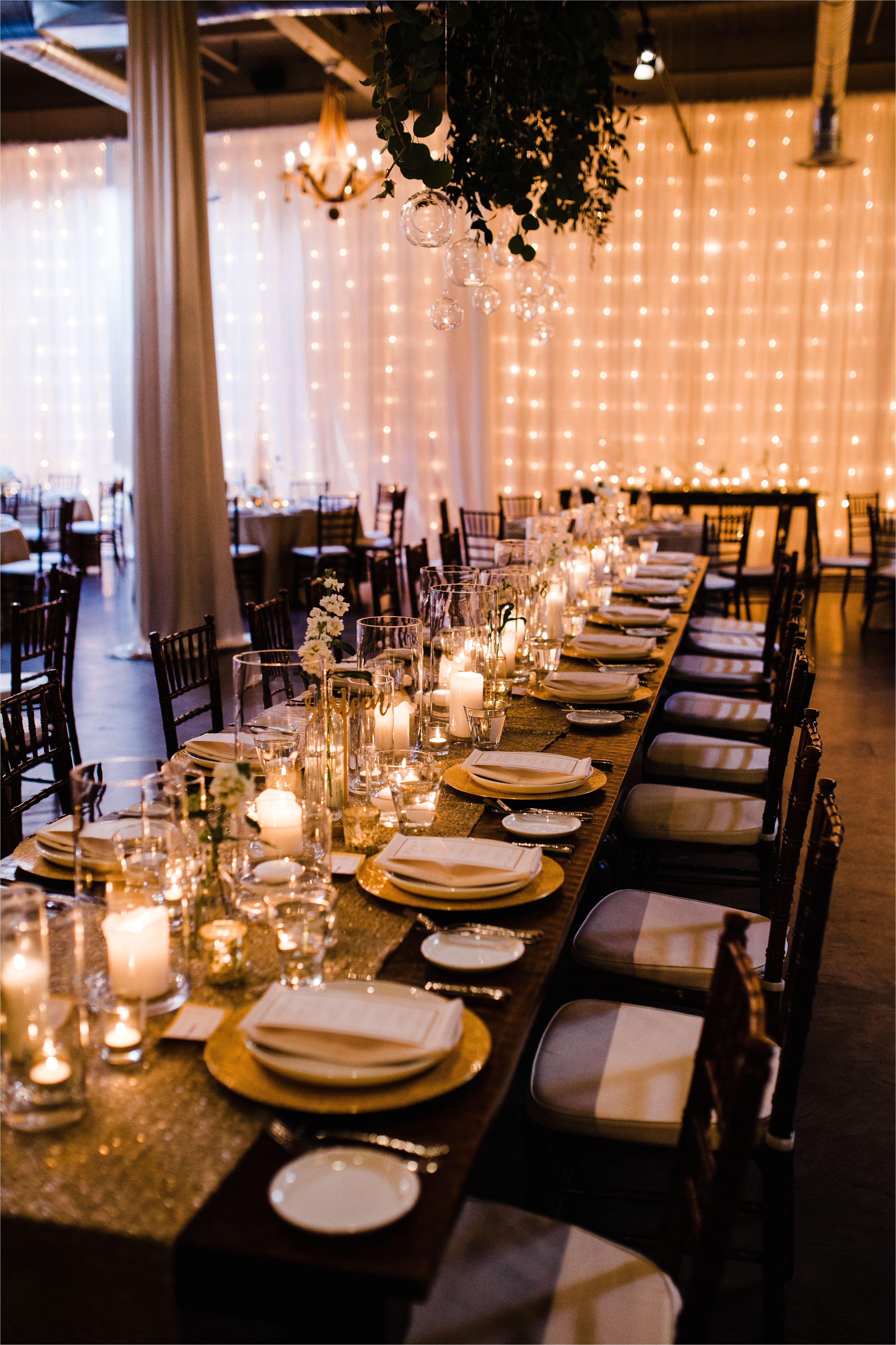 silva wedding head table decor hanging greenery and floral by herban bloom custom