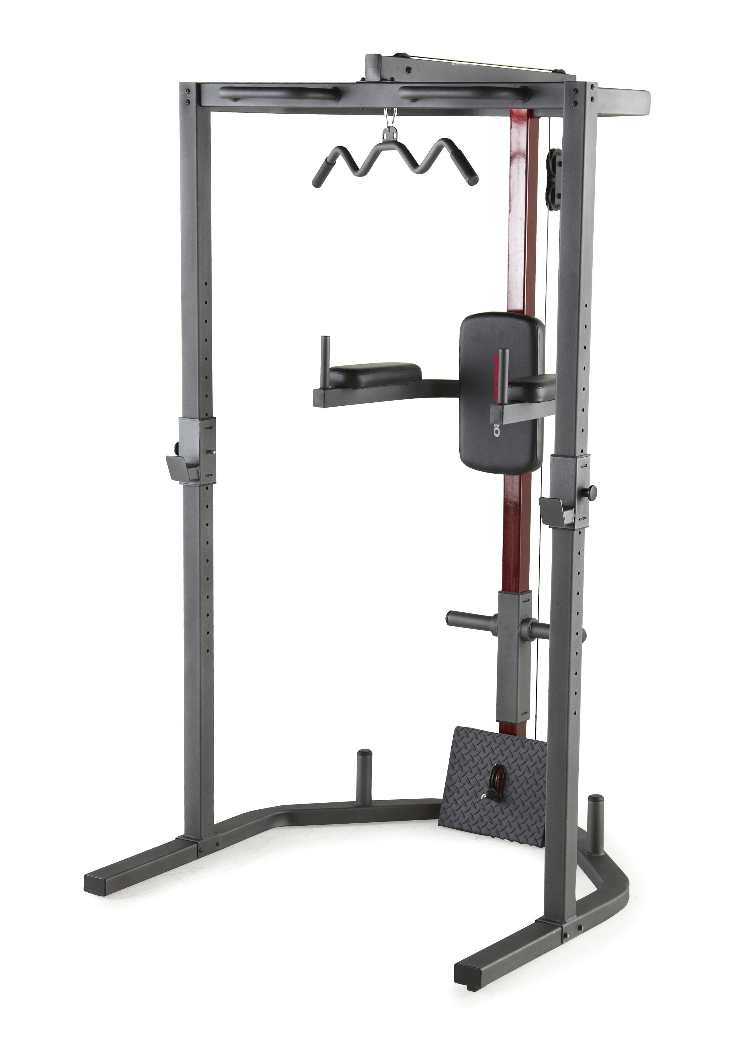 weider pro power rack home gym weight trainer