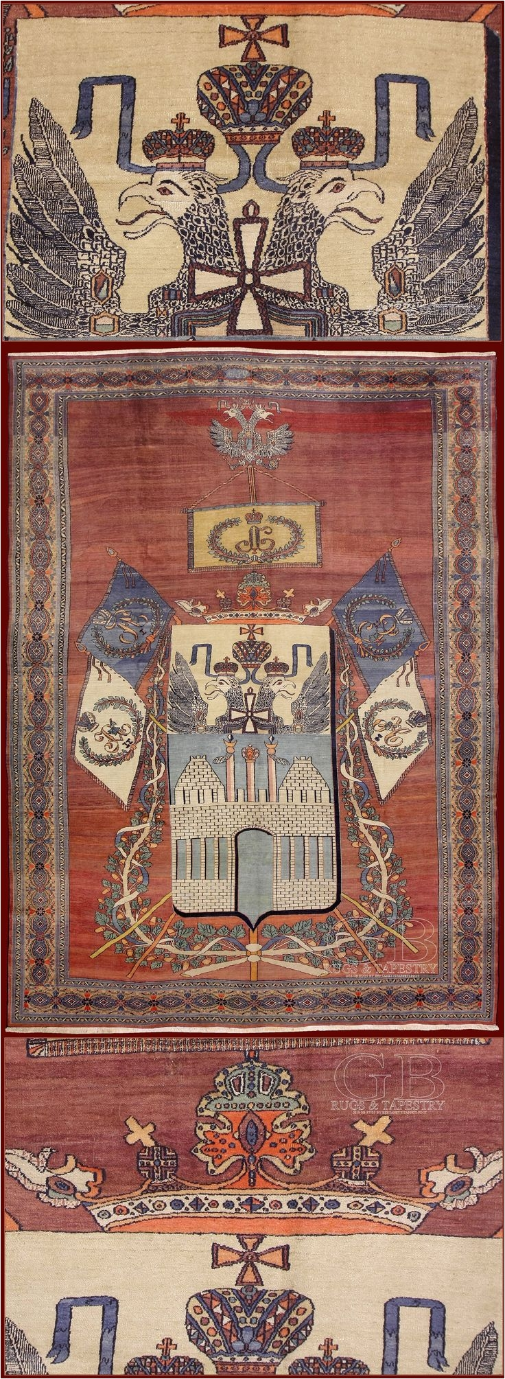 antique bakshaish rug cm 423 x 314 ft 14 0 x 10 4 cod