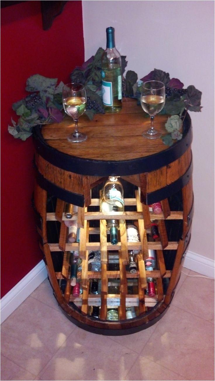items similar to whiskey barrel wine rack on etsy